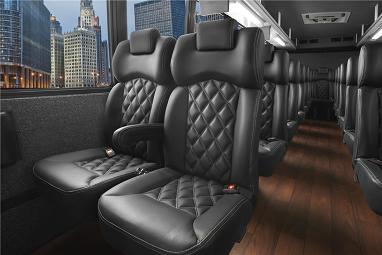 41 passenger interior