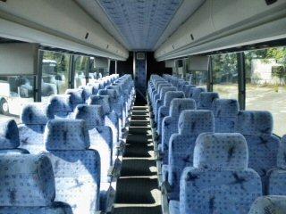Motor Coach Interior