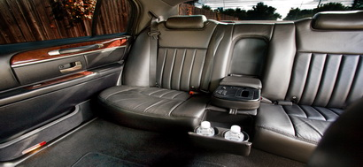 Lincoln Town Car interior