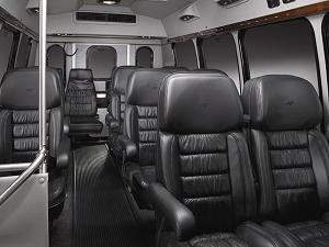 Corporate Van Interior
